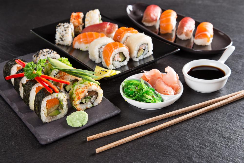 sushi znane w kuchni japonskiej